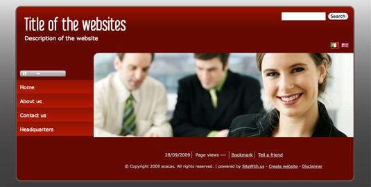 Home page splash