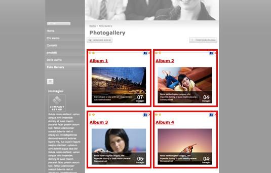 Creating photo galleries
